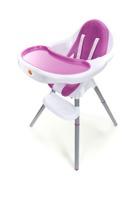 Krzesełko do karmienia Baby Maxi - FIOLETOWE