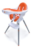 Krzesełko do karmienia Baby Maxi - POMARAŃCZOWE