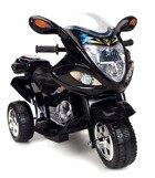 Pojazd elektryczny, na akumulator, motor dla dzieci - CZARNY