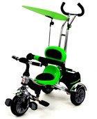 Rowerek Trójkołowy PATY BIKE II - zielony