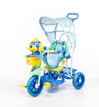 Rowerek trójkołowy dla dzieci piesek niebieski