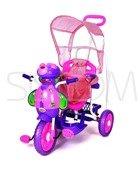 Rowerek trójkołowy dla dzieci pszczoła fioletowa