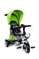 Rowerek trójkołowy z daszkiem Viky Bike Premium - zielony