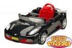 SPORTCAR Czarna Perła, pojazd akumulatorowy dla dzieci + PILOT + MP3