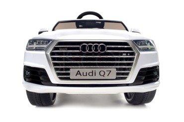 Pojazd elektryczny, na akumulator AUDI Q7 na licencji  - BIAŁY