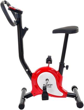 Rower treningowy mechaniczny Funfit Czerwono-Czarny