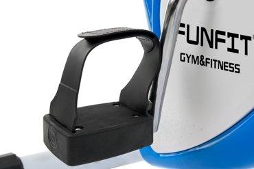 Rower treningowy mechaniczny Funfit Niebiesko-Biały