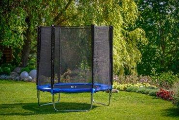 Trampolina ogrodowa dla dzieci 183cm z siatką zewnętrzną